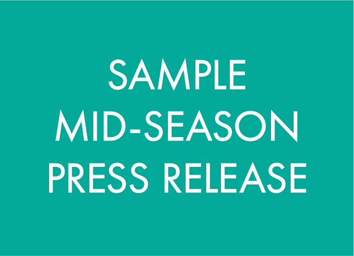sample-midseason-press-release